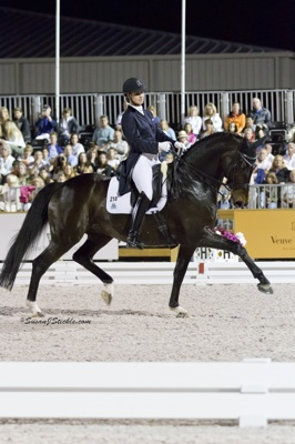 2012 U.S. Olympians Adrienne Lyle and Wizard competing at last year's AGDF. Photo © SusanJStickle.com