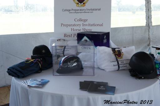 The CPI awards table.