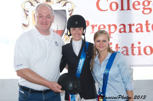 Roy Burek, Brianne Link, and Ashley Guidry. Photo by ManciniPhotos.