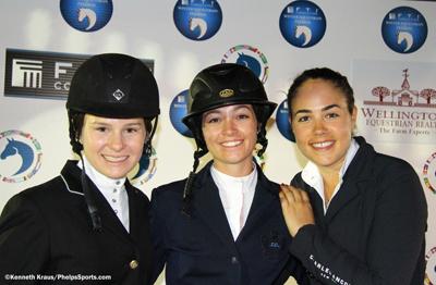 Katie Dinan, Reed Kessler, and Brianne Goutal. Photo © Kenneth Kraus.