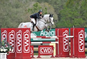 ©ESI Photography Callan Solem admits that Ocala is one of her favorite places to show and it showed today as she and VDL Torlando rode to a win in the $25,000 SmartPak Grand Prix to kick off Week IV. She topped 25 and was also fifth with VDL Wizard.