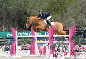 ©ESI Photography Ragan Roberts and Quipit L.F. started the week of at HITS Ocala with a win in the $2,500 Brook Ledge Open Welcome on Wednesday.