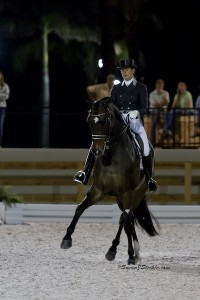 Number 7 on the FEI World Individual Dressage Ranking, Tinne Vilhelmson-Silfven and Don Auriello  are scheduled to compete this week at the AGDF.