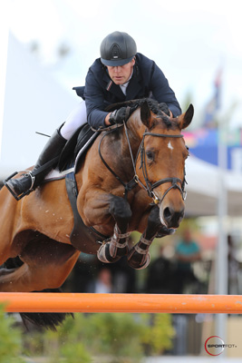 Johannes Ehning and Cayenne 162. Photo © Sportfot.