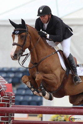 Eric Lamaze and Wang Chung M2S. Photo © Sportfot.