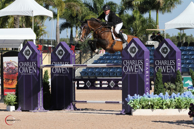 Shane Sweetnam and Cyklon 1083. Photo © Sportfot.
