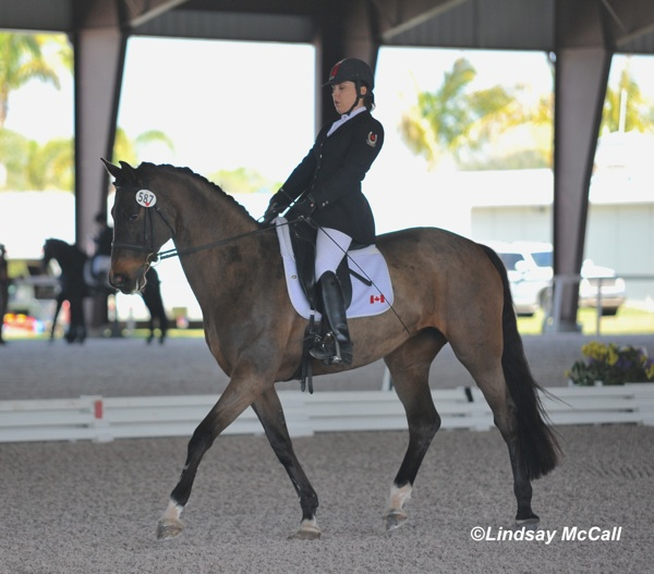 Ashley Gowanlock and Ferdonia 2. Photo © Lindsay McCall