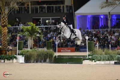 Ben Maher and Cella. Photo © Sportfot.