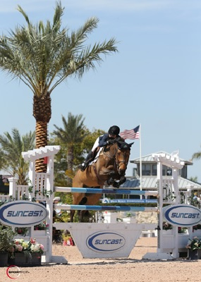 Jessica Springsteen and Vindicat W. Photo © Sportfot.