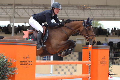 Lauren Hough and Ohlala. Photo © Sportfot.