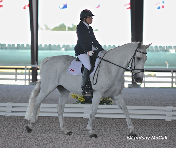 Grade Ia Jody Schloss (CAN) and Inspector Rebus Photo(C) Lindsay McCall