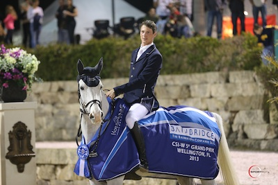 Daniel Deusser and Cornet d'Amour. Photo © Sportfot.