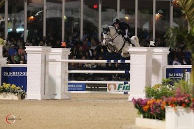 Daniel Deusser and Cornet d'Amour. Photo © Sportfot.