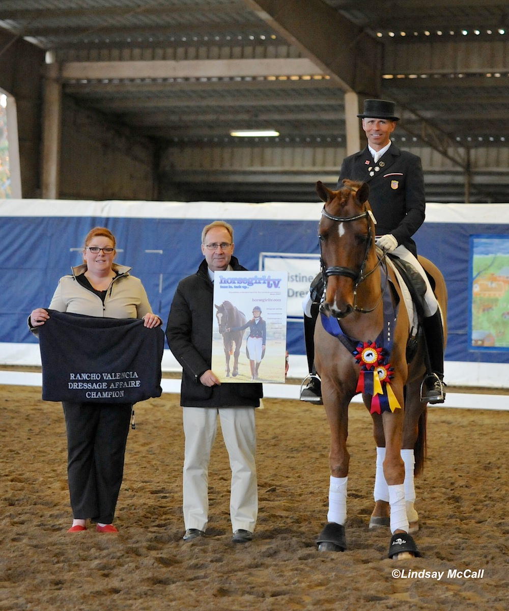 Steffen Peters with Legolas 92. Photo © Lindsay McCall for HorseGirlTV.com