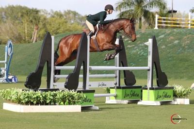 Lillie Keenan and Levistano 2. Photo © Sportfot.