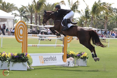 Shane Sweetnam and Solerina. Photo © Sportfot.