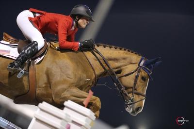 Reed Kessler and Cylana. Photo © Sportfot.