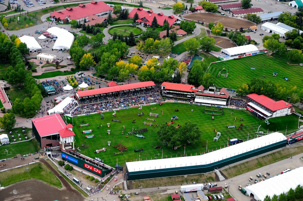Tribute to Hickstead at the Spruce Meadows Masters. (Spruce Meadows Media Services)