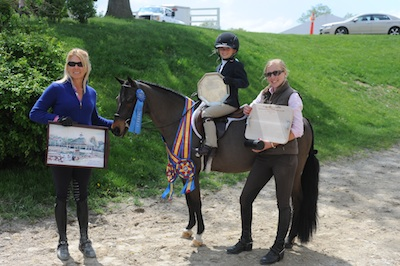 Best Child Rider on a Pony Eliza Altman
