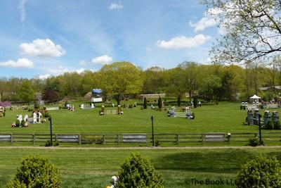 The beautiful grand prix field at Old Salem Farm