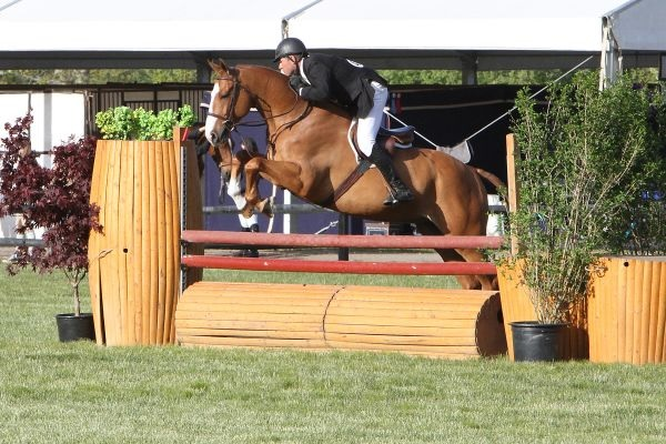 """David Oliynyk and Generous claimed the $10,000 Fieldstone 3'3"""" Hunter Derby victory with a near-perfect score of 192 points during the Fieldstone Spring Festival. Above Photo By: Kendall Bierer/Phelps Media Group. All other photographs by AnLi Kelly-Durham."""