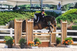 "Nicole Lyvere and Promo, 3'6"" Amateur Owner Hunter Champions"