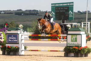Kristen VanderVeen and Bull Run's Eternal won the $30,000 Summer in the Rockies II Grand Prix on Saturday at the Colorado Horse Park