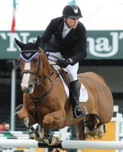 Eric Lamaze and Wang Chung M2S. Photo © Spruce Meadows Media Services.