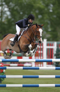 Katie Dinan and Sandro. Photo © Spruce Meadows Media Services.