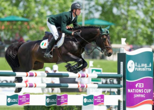 Richie Moloney and Carrabis Z. Photo © Spruce Meadows Media Services.