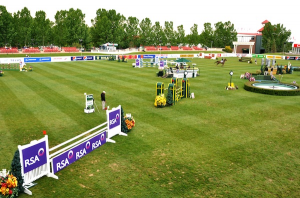 The beautiful Meadows on the Green is the site of major competitions during the 'Continental' Tournament. Photo © Spruce Meadows Media Services.