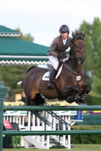 Christine McCrea and Romantovich Take One. Photo © Spruce Meadows Media Services.