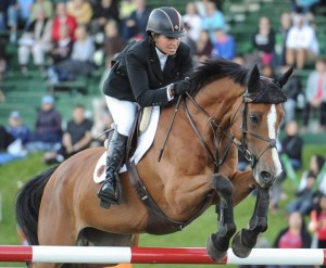 Beezie Madden and Amadora. Photo © Spruce Meadows Media Services.