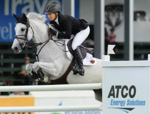 Beezie Madden and Wrigley. Photo © Spruce Meadows Media Services.