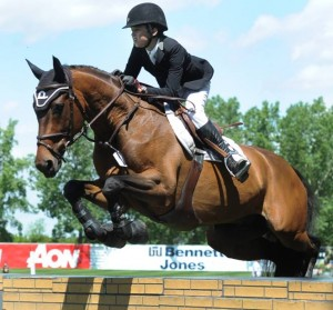 Lucas Porter and Phineas. Photo © Spruce Meadows Media Services.