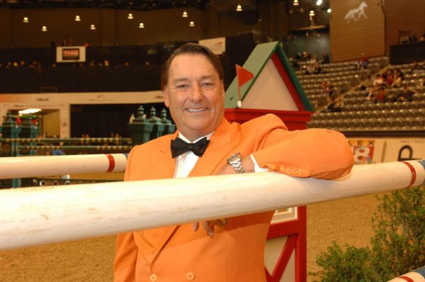 Mason Phelps, Jr. President of the National Horse Show Association - photo by Tony Parkes