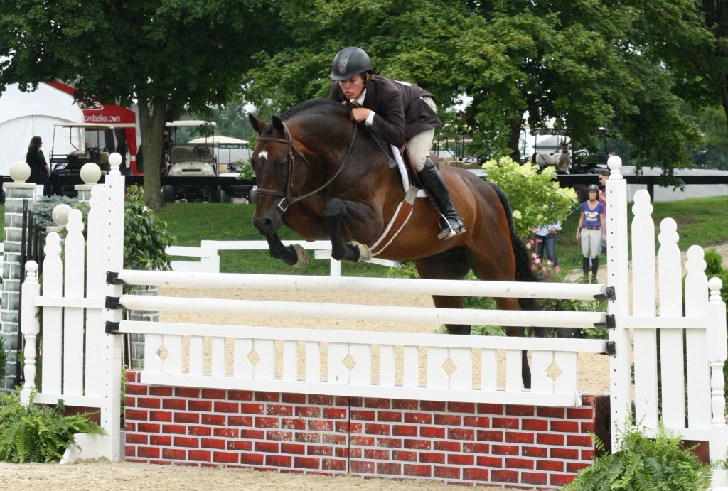 Shawn Casady and Ascot. Photo by Emily Riden