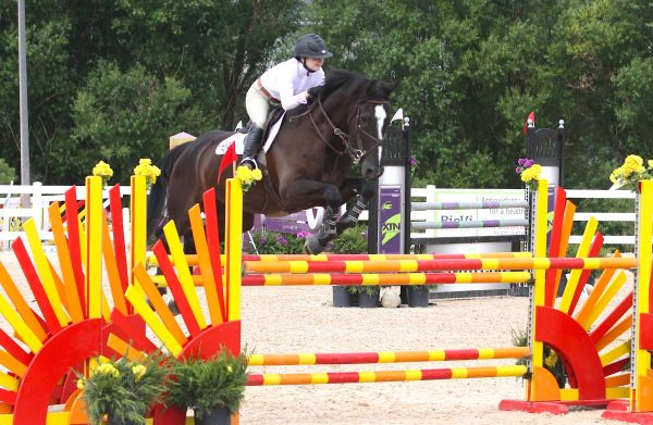 Kelsey Thatcher and Balougris SL Z. Photo by Carrie Wirth.