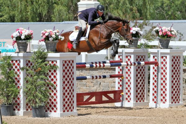 David Dorner and Barack earned the second place finish as the fastest of the four-fault efforts in the $5,000 GGT Footing Welcome Stake.