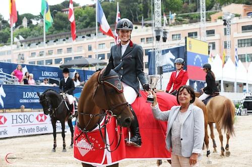 Carolina Mirabal GC Leroy Monte Carlo pres Sportfot lo
