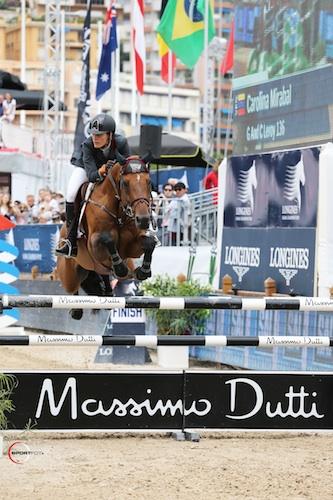 Carolina Mirabal and GC Leroy Monte Carlo Sportfot lo