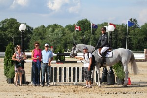 Bull Run's Becky Blue and Megan McDermott Winner of the $30,000 Grand Prix of Princeton