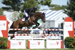 Nicole Bellissimo and VDL Bellefleur won the SJHOF High JR-AO Classic on Saturday at Silver Oak - photo by Tammy Hardy.