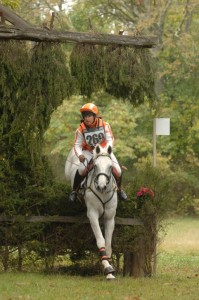 "Sharon White with ""Merloch"" at Morven Park's 2012 Fall Horse Trials."
