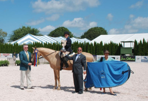 Hampton Classic hosts the championship finals for the  Long Island Horse Show Series for Riders with Disabilities