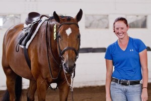 Jessica Litfin won the $1,000 Ravens Wood Farm Groom's Class victory
