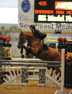Barbara Ann Merryman and Fernway Park were  third in the ASPCA Maclay Regionals. Photo by Randi Muster