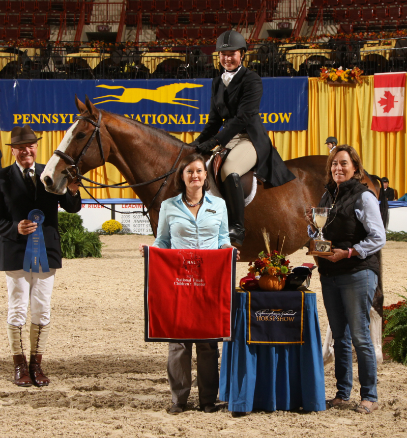 Emma Fass and SON OF A SAILOR receive the Laura Palmer Pickett Memorial Perpetual Trophy (photo © AlCookPhoto.com)