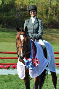 Patty Stovel dominated the Asbury Open Hunter Derby with a 1-2 finish, also claiming the Gary Zook Perpetual Memorial Trophy.jpg Patty Stovel dominated the Asbury Open Hunter Derby with a 1-2 finish, also claiming the Gary Zook Perpetual Memorial Trophy. (Photo By: Photo ©2013 CEM&P, LLC)