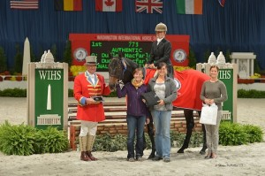 Dudley MacFarlane and Authentic in their winning presentation